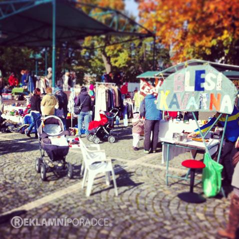 Bleší trh Vrchlabí - podzim 2013