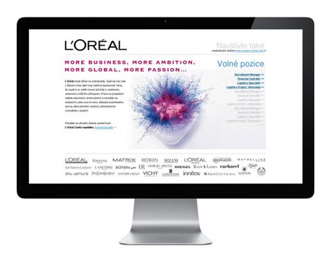LOreal - volné pozice
