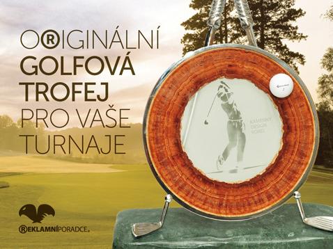 Kamený design - Originální golfová trofej