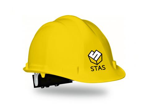 STAS - stavební společnost - helma